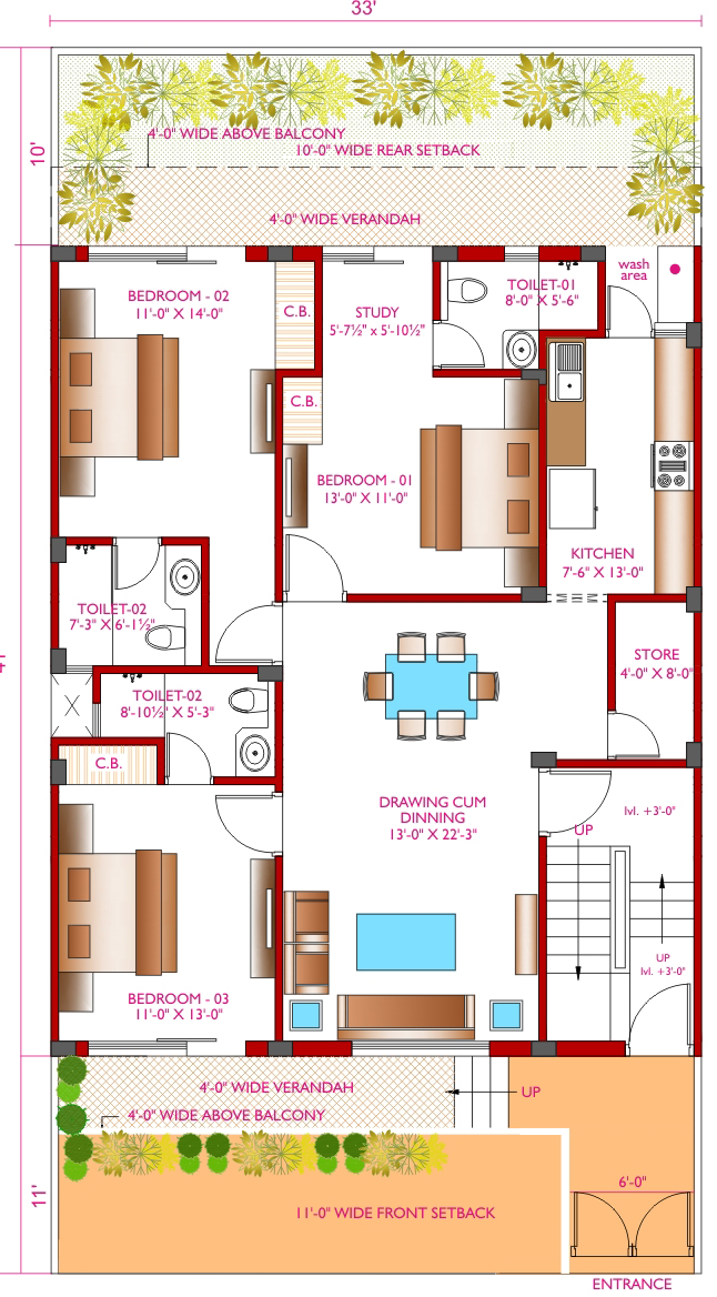 Bollywood floors sector 113 mohali independent lowrise for Map of kothi design