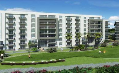 3d view of ireo rise mohali
