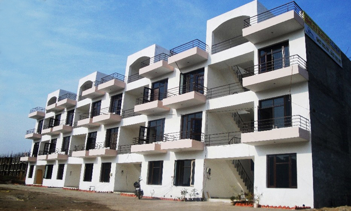 kiran apartments vip road zirakpru near chandigarh 2 bedroom affordable flats