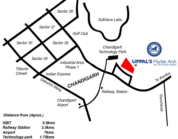uppals marble arch chandigarh most luxurious flats for